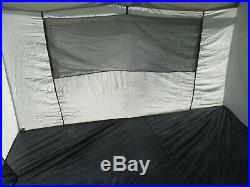 Vintage Eureka! Chateau-12 Canvas Cabin Tent 11.5 x 8.5 in Very Good Condition