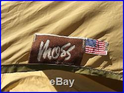 Vintage MOSS TENT 1-Man CRICKET Camden USA Bill 70s pre- MSR Rare