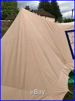 Vrijbuiter Koekoek (Cuckoo) 4 Berth Dutch Canvas Pyramid Tent Very Rare Model