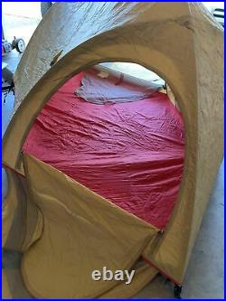Vtg Moss Olympic Size 3-Person Camden Maine Mountaineering 4-Season Tent