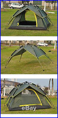 Waterproof 2 Person Double layer Automatic Instant Outdoor Camping Family Tent