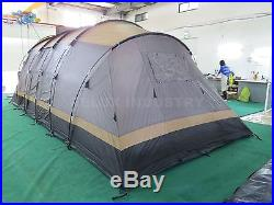 Waterproof 8-10 Person Family Camping Large Tent Hiking Outdoor tunnel Tents
