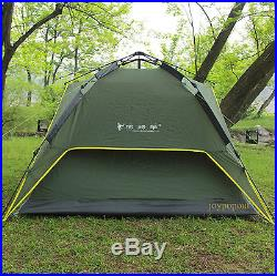 Waterproof Double layer Automatic Instant Camping Pop Up Large Umbrella Tent