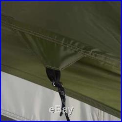 Wenzel Klondike 16 x 11 Foot 8 Person Screen Room Camping Tent, Green (Open Box)