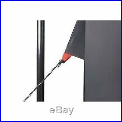 Wenzel Magnetic Door Screen House Black 11' x 9