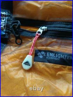 ZPack Splash Bivy Bag Cuben Fiber DCF Size Large Green 7.2 ounces