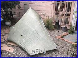 ZPacks Hexamid Solo Dyneema Cuben Fiber Ultralight + Bathtub Groundsheet & Pole