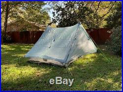 Zpacks Duplex 2 person ultralight tent Spruce Green