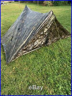 Zpacks Duplex Camo DCF Ultralight Shelter 2 Person Tent