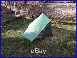 Zpacks Hexamid 1 Person Tent cuben fiber lightweight backpacking tent